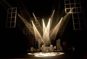 Die Bühne des Theaters